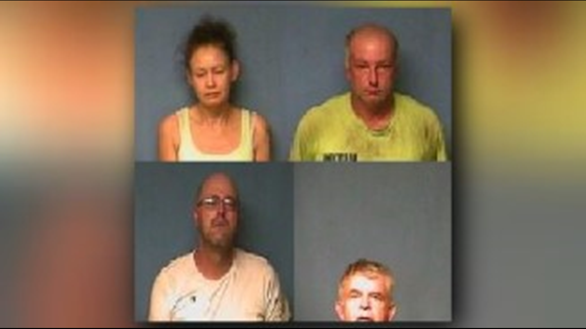 Four suspects arrested in Lonoke County for capital murder, abuse of a corpse (VIDEO INCLUDED)