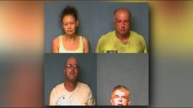 Four suspects arrested in Lonoke County for capital murder, abuse of a corpse