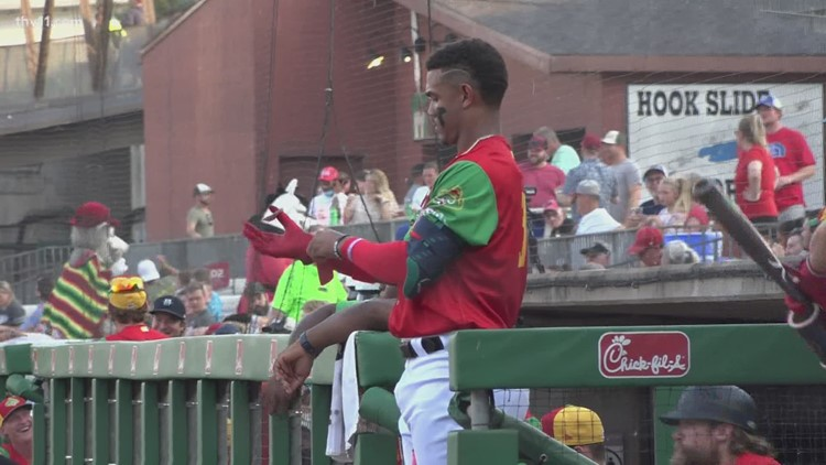 Travs blank Rough Riders as top prospect Julio Rodriguez makes home debut