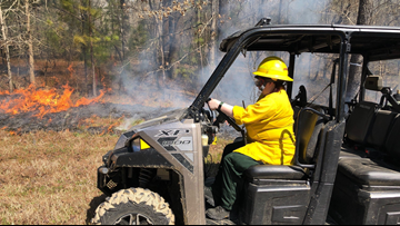 Camp Robinson starting controlled burns ahead of fire season