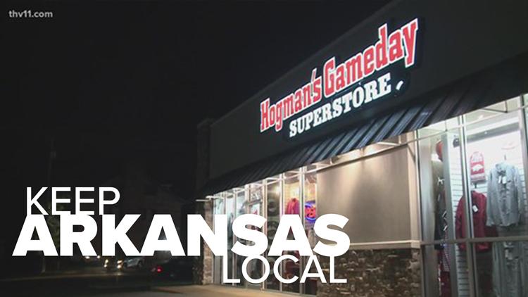 Hogman's Gameday Superstore   Keep Arkansas Local
