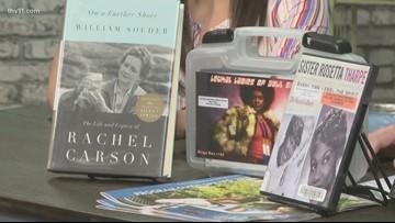 Traveling exhibit dedicated to Arkansas Women's History