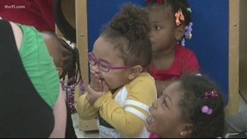 UAMS Head Start kids don't like the idea of the Grinch stealing Christmas