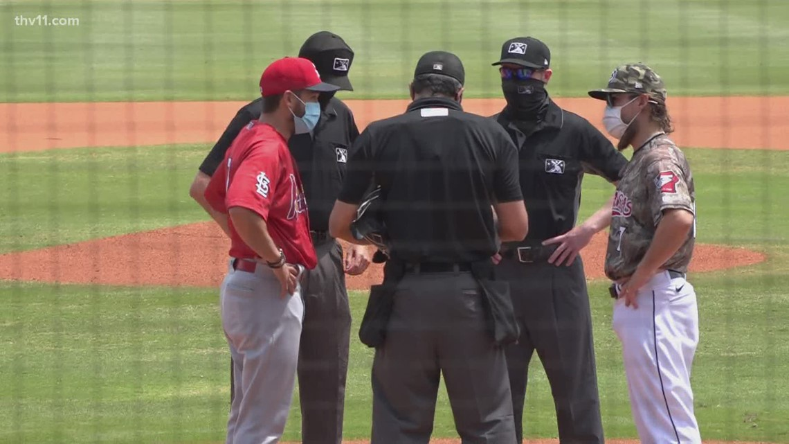 Cards deny Travs sweep with shutout
