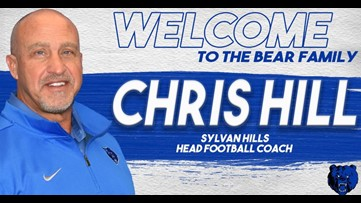 Chris Hill named Sylvan Hills head football coach