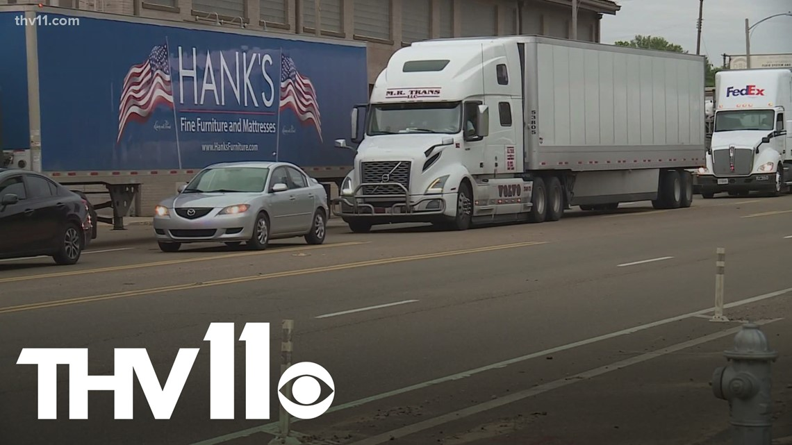 Truck drivers see chain supply issues, as I-40 bridge closure causes major delays