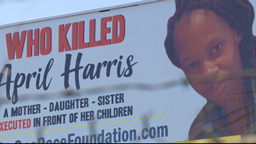 One year after April Harris' murder, family still searching for answers