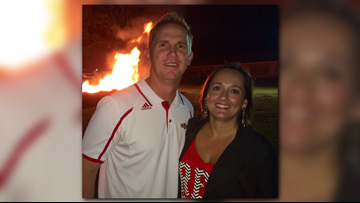A-State coach Blake Anderson's wife finishes last round of radiation to fight cancer
