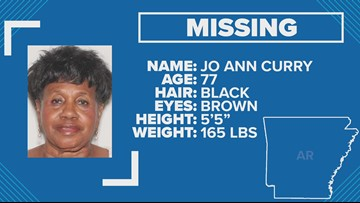 Police searching for missing Little Rock woman with dementia