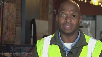 Man who began in Little Rock homeless cleanup program now promoted to supervisor