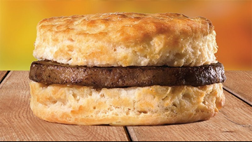 Hardee's offering free sausage biscuit to anyone with a valid Arkansas hunting license