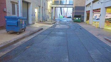 Public invited to spray paint Baker's Alley in downtown Little Rock