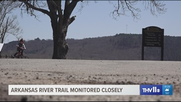 Arkansas River Trail monitored closely