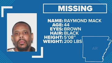 Little Rock police searching for missing 44-year-old man