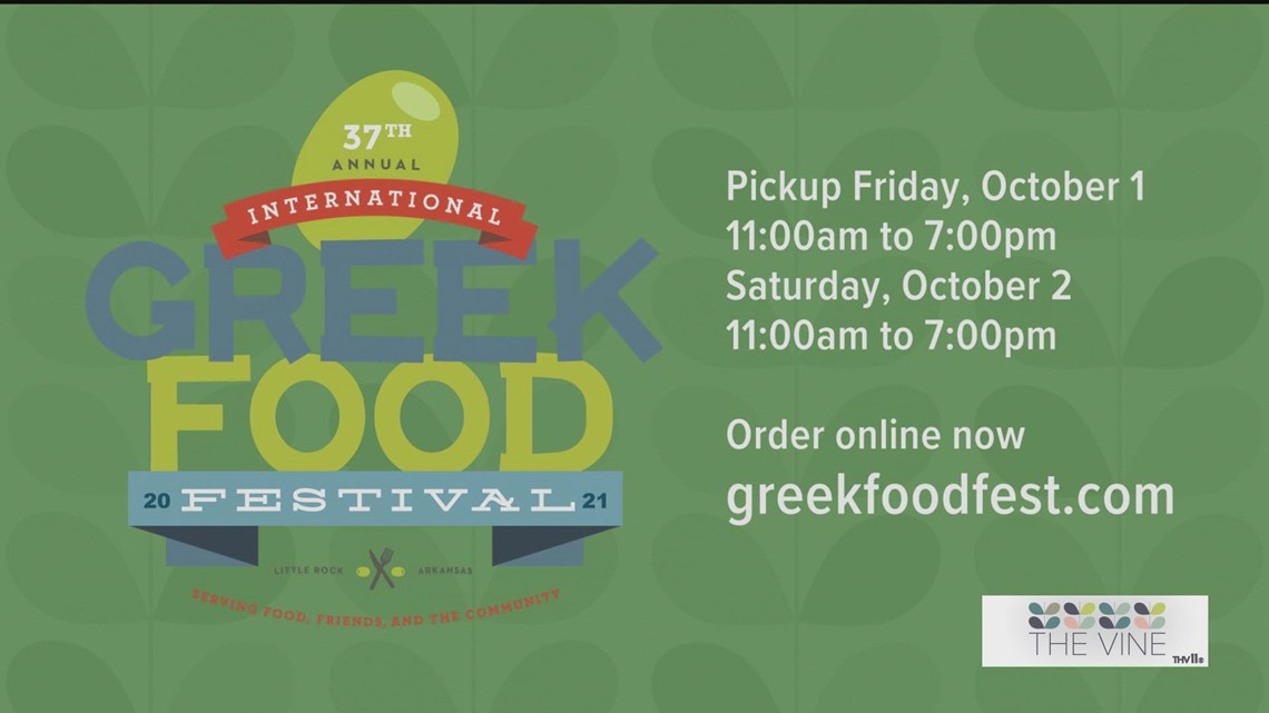 Place your orders now for the Greek Food Festival