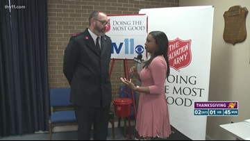 Do some good this Holiday season with the Salvation Army