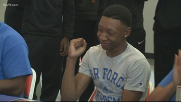 LR Hall's Carlos Miller Jr. signs with Air Force