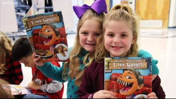 What if you had T. Rex teeth? The answer can be found at Magness Creek Elementary