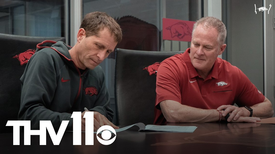 Eric Musselman talks new contract extension with Razorbacks