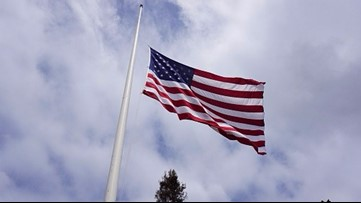 Gov. Hutchinson orders state, US flags to fly at half staff in honor of fallen Hot Springs officer