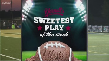 Congrats to Little Rock Catholic for winning Yarnell's Sweetest play of week nine!