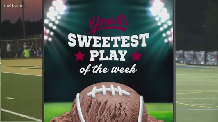 Congrats to Little Rock Central for winning Yarnell's Sweetest Play of Week Six!