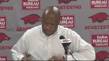 Mike Anderson previews trip to Ole Miss