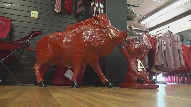 Little Rock businesses prepare as Razorbacks battle Longhorns