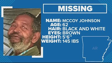 Silver Alert activated for 62-year-old Little Rock man