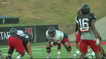 Red Wolves had better balance in final scrimmage of fall camp