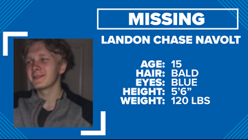 15-year-old Lonoke County boy missing, possibly headed to Mississippi