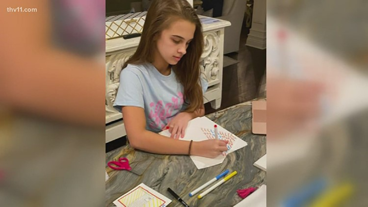 Benton teen writes dozens of letters for lonely seniors in nursing homes