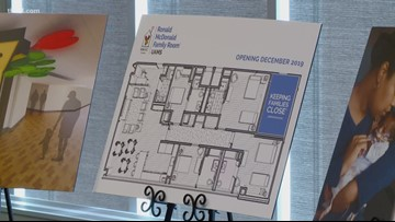 Ronald McDonald House to build family room at UAMS