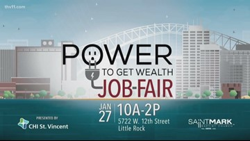 Power to Get Wealth Job Fair from CHI St. Vincent this weekend
