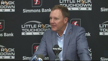 Chad Morris reacts to Anderson's death