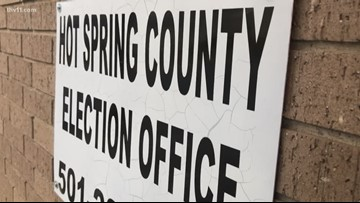 Doubts over Hot Springs County dry vote docs