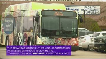 MLK Rock Region Metro bus