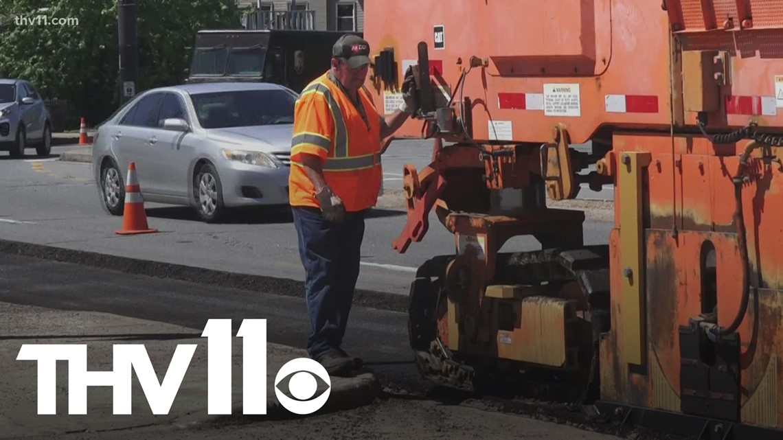 North Little Rock business owners express concerns about potholes throughout the city