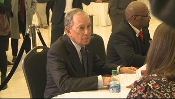 Michael Bloomberg files paperwork for 2020 Democratic Primary in Arkansas