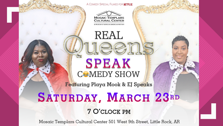 Real Queens Speak Comedy Show