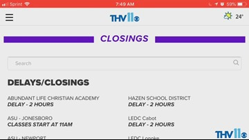 School closings, turkey salmonella, smoke out, recycling | Midday Minute Nov. 15