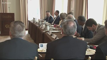 Mayor Scott gathers roundtable discussing infrastructure