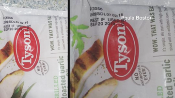 Pine Bluff woman concerned about safety of Tyson Foods donations