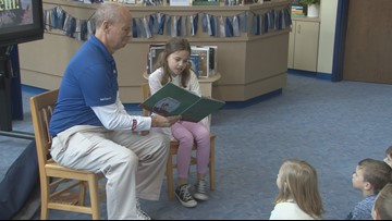 Former Little Miss of Arkansas reads to peers at Hurricane Creek