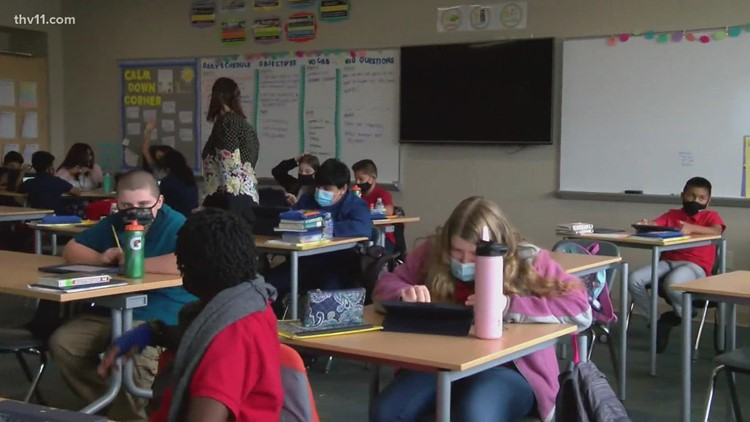 Gov. Hutchinson eases quarantine requirements for K-12 students