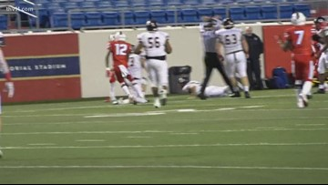 Parkview Patriots win week 9 of Yarnell's Sweetest Play of the Week