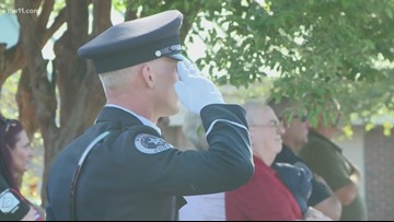 Fallen Officer Memorial Program honors fallen police officers in central Arkansas