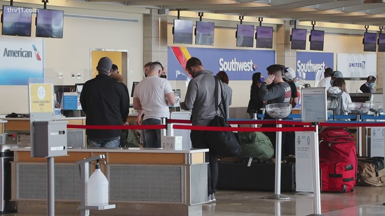Little Rock airport sees most travelers since COVID-19 began
