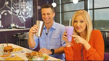 Purple Cow wins best milkshake in Arkansas; Eat It Up puts them to the taste test