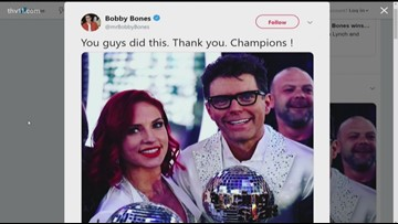 Bobby Bones wins 'Dancing with the Stars'
